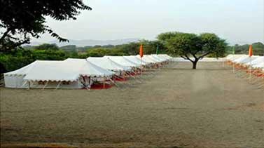 Accommodation in Luxury Camp Haridwar